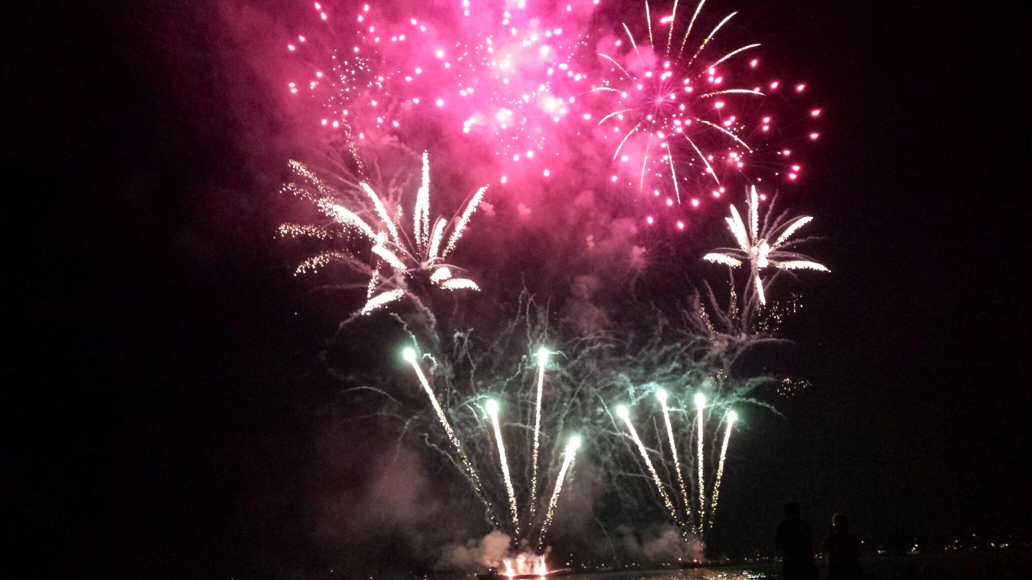 Feuerwerk Seenachtsfest Arbon