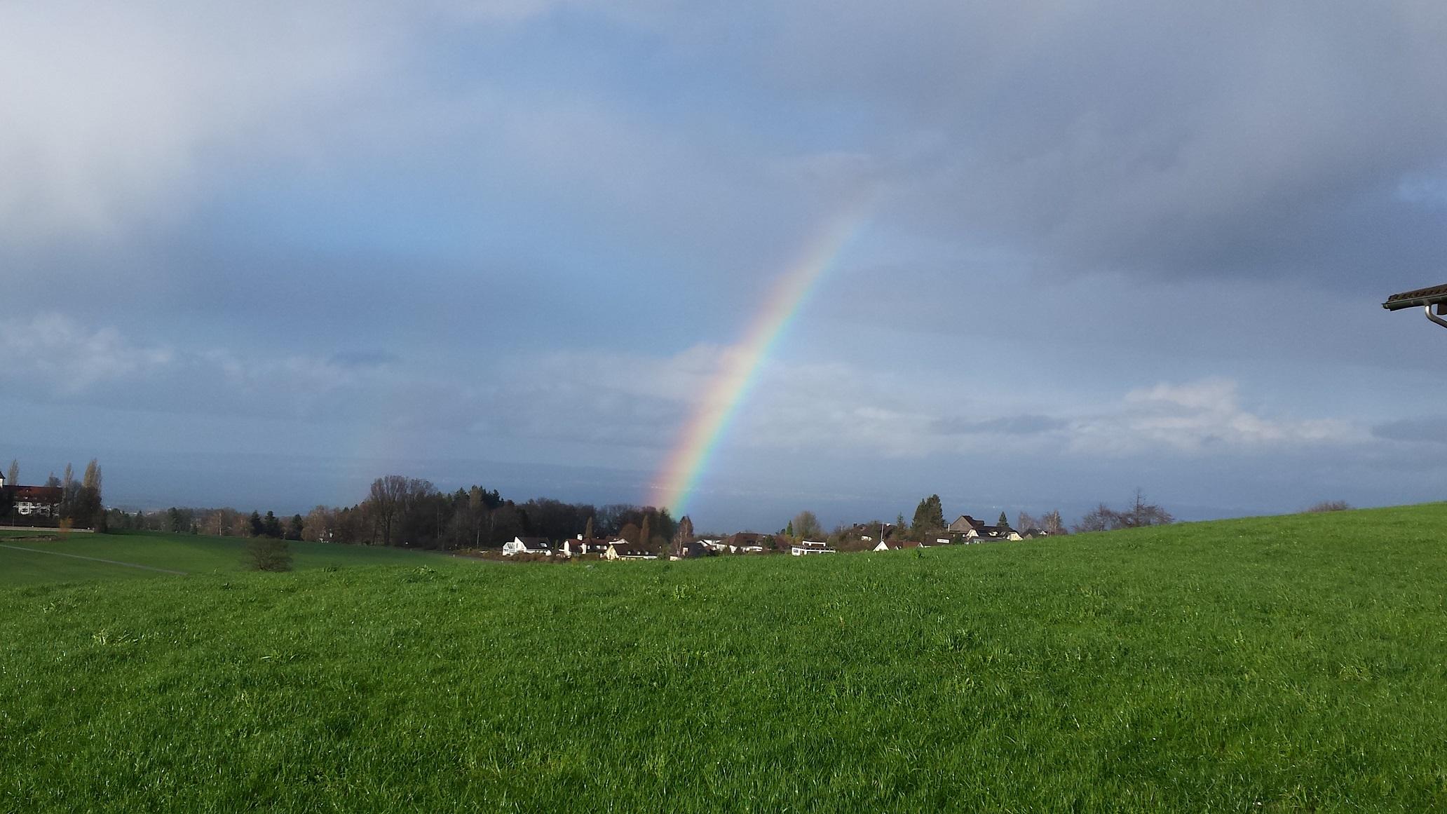 Regenbogen nach dem Sturm