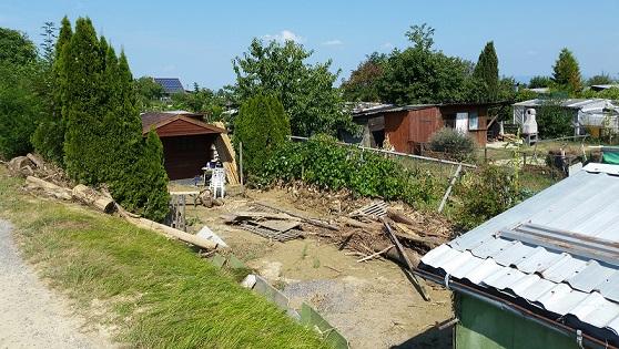 Schaden Hochwasser Steinach