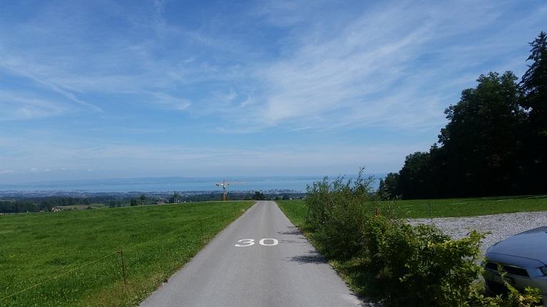 Sommer Guggeien Aussicht Bodensee