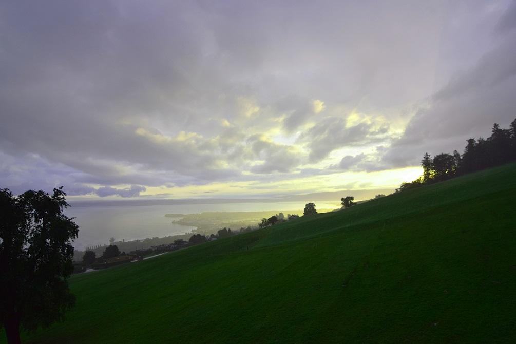 Morgenstimmung Sonnenaufgang Rorschacherberg